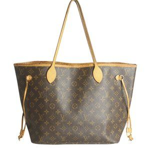 Louis Vuitton M41178 Neverfull MM Tote Bag 189046